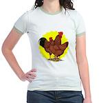Production Red Sunburst Jr. Ringer T-Shirt