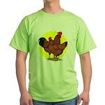Production Red Sunburst Green T-Shirt
