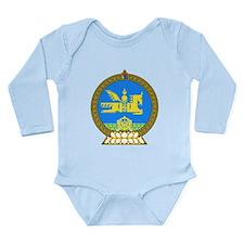 Mongolia Long Sleeve Infant Bodysuit