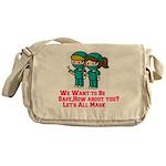 I Heart Universal Monsters Field Bag
