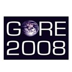 Earth Gore 2008 (Pack of 8 Postcards)