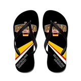 DE Germany Hockey Deutschland Flip Flops