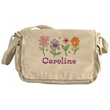 Daisy Garden Messenger Bag