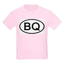 BQ - Initial Oval Kids T-Shirt