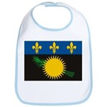 Guadeloupe Flag Bib