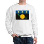 Guadeloupe Flag Sweatshirt