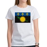Guadeloupe Flag Women's T-Shirt