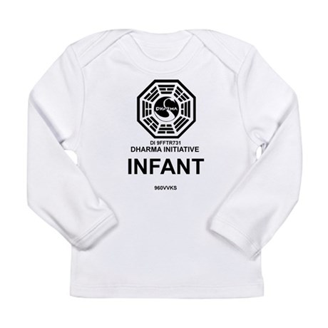 Dharma Initiative Long Sleeve Infant T-Shirt