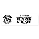 Dharma Initiative Bumper Sticker
