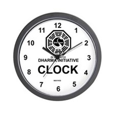 Dharma Initiative Wall Clock
