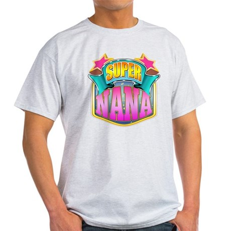 Pink Super Nana Light T-Shirt