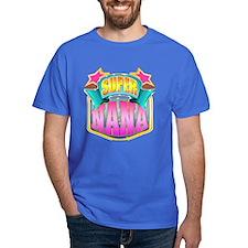 Pink Super Nana T-Shirt