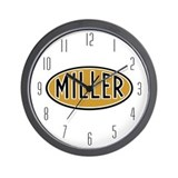 Miller Logo Wall Clock