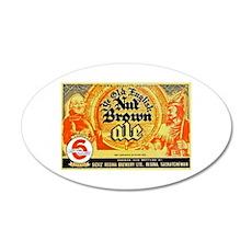 Canada Beer Label 10 38.5 x 24.5 Oval Wall Peel