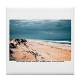 Cape Hatteras National Seashore Tile Coaster