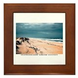 Cape Hatteras National Seashore Framed Tile