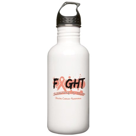 Fight Uterine Cancer Cause Stainless Water Bottle