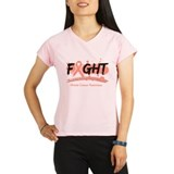 Fight Uterine Cancer Cause Performance Dry T-Shirt