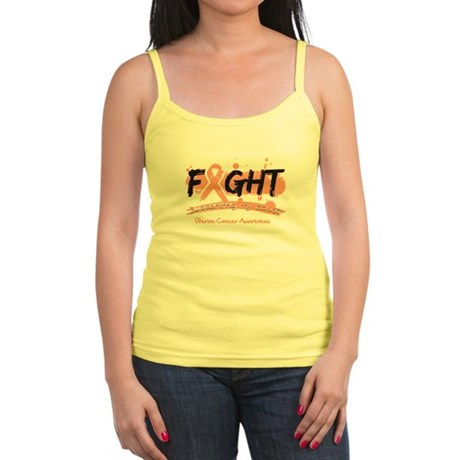 Fight Uterine Cancer Cause Jr. Spaghetti Tank