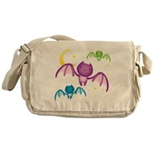 Drippy the Bat Messenger Bag