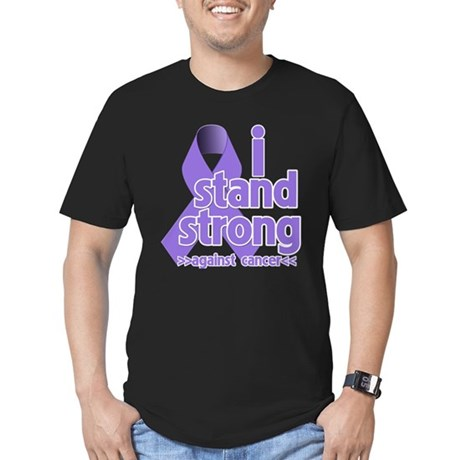 I Stand Hodgkin's Lymphoma Men's Fitted T-Shirt (d
