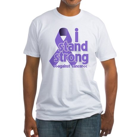 I Stand Hodgkin's Lymphoma Fitted T-Shirt