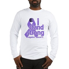 I Stand Hodgkin's Lymphoma Long Sleeve T-Shirt