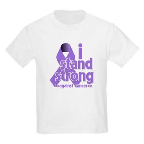 I Stand Hodgkin's Lymphoma Kids Light T-Shirt