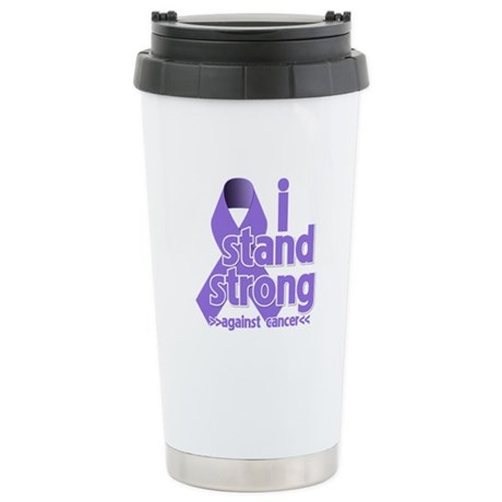 I Stand Hodgkin's Lymphoma Ceramic Travel Mug