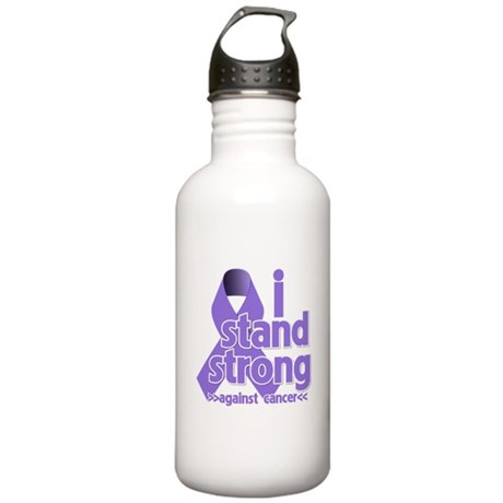 I Stand Hodgkin's Lymphoma Stainless Water Bottle