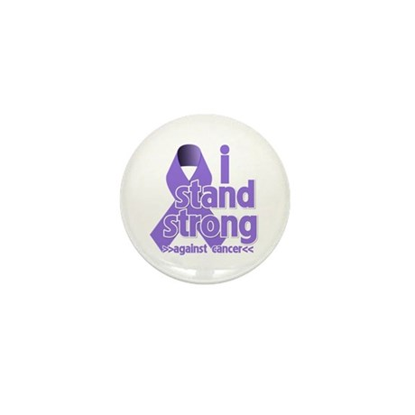 I Stand Hodgkin's Lymphoma Mini Button