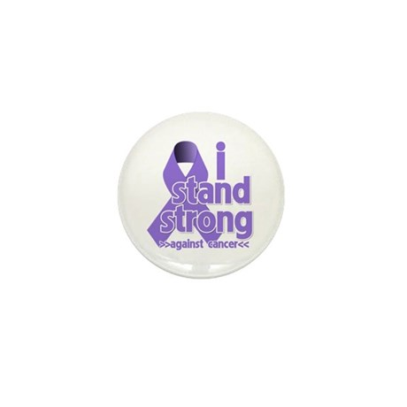 I Stand Hodgkin's Lymphoma Mini Button (100 pack)
