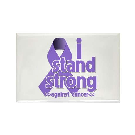 I Stand Hodgkin's Lymphoma Rectangle Magnet (100 p