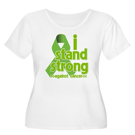 I Stand Non-Hodgkins Women's Plus Size Scoop Neck
