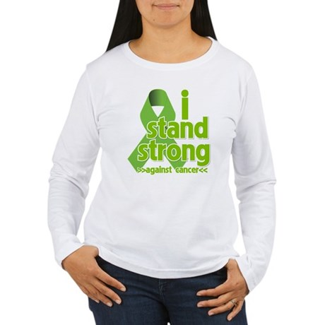 I Stand Non-Hodgkins Women's Long Sleeve T-Shirt