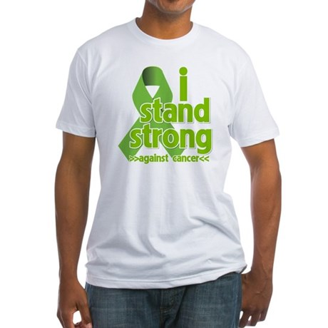 I Stand Non-Hodgkins Fitted T-Shirt