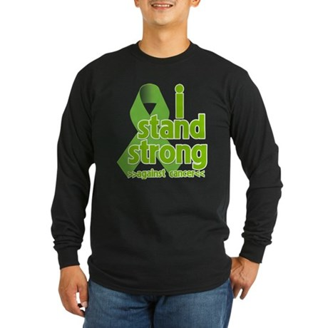 I Stand Non-Hodgkins Long Sleeve Dark T-Shirt