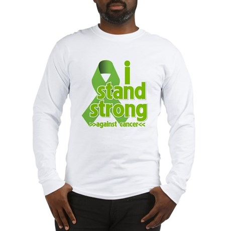 I Stand Non-Hodgkins Long Sleeve T-Shirt