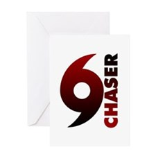 Hurricane Chaser Greeting Card