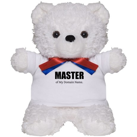 Master Domain Teddy Bear