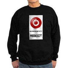 Emergency Reboot Sweatshirt