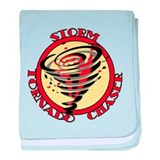 Storm Tornado Chaser baby blanket
