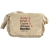 'Breakfast Club Characters' Messenger Bag