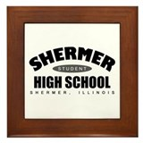 'High School of the 80's' Framed Tile