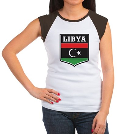Libya Women's Cap Sleeve T-Shirt