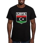 Libya Men's Fitted T-Shirt (dark)
