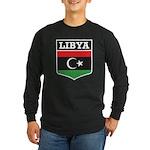 Libya Long Sleeve Dark T-Shirt