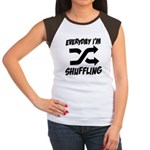 Everyday I'm Shuffling Women's Cap Sleeve T-Shirt