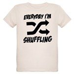 Everyday I'm Shuffling Organic Kids T-Shirt
