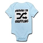 Everyday I'm Shuffling Infant Bodysuit